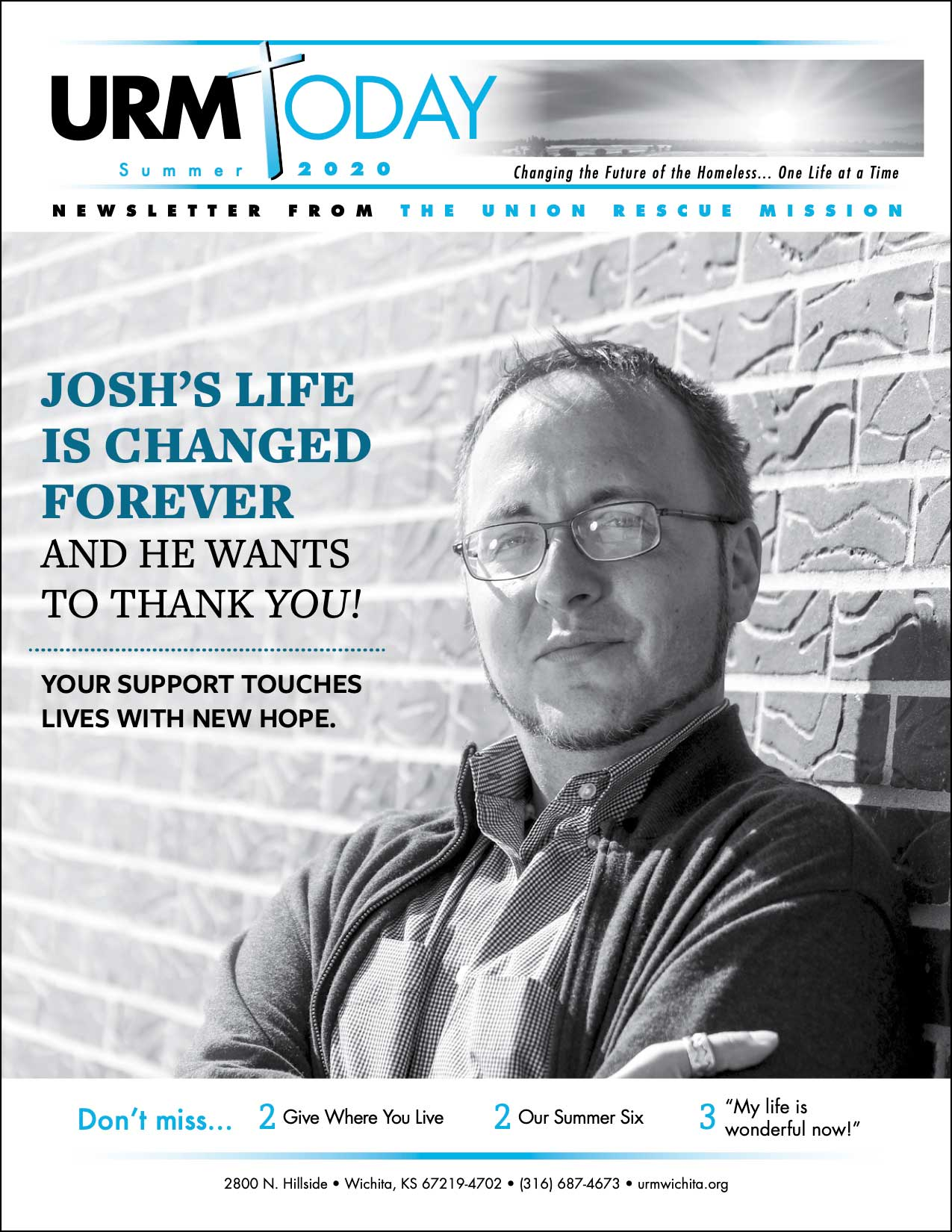 summer newsletter Josh